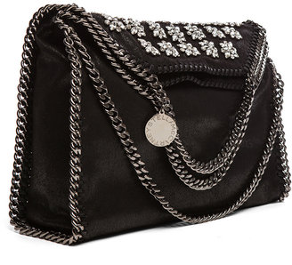 Stella McCartney Small Falabella Fold Over Tote in Amaryllis