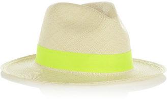 Sensi Studio Toquilla straw Panama hat