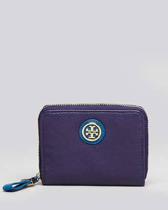 Tory Burch Coin Case - Clay Zip Colorblock