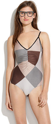 Zimmermann Allure Rings Ruched One-Piece