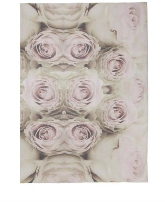 Lily & Lionel Fiori rose-print scarf
