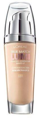 L'Oréal® Paris True Match Lumi Healthy Luminous Makeup $9.89 thestylecure.com