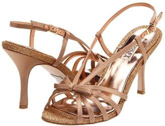 Badgley Mischka Wright (Natural Satin) - Footwear
