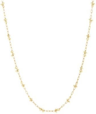 Ten Thousand Things Gold Long Luxe Beaded 'X' Necklace