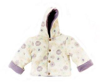 Finn + Emma Baby-girls Infant Flower Reversible Jacket