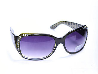 Sally Beauty Dynasty Sunglasses Rhinestone Frame Sunglasses with Laser Etched Arms