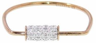 ginette_ny Mini Straw Diamond Ring