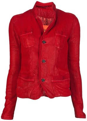 Giorgio Brato Moon Leather Jacket