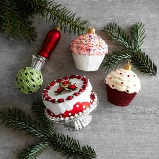 Sur La Table Cake and Ice Cream Ornaments, Set of 4