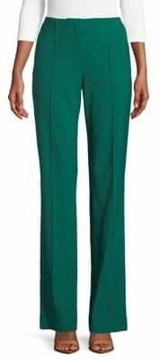 Diane von Furstenberg Front Pleats Wool-Blend Pants