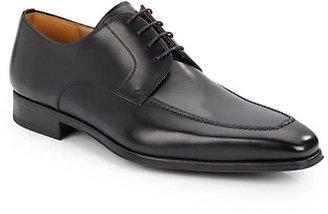 Magnanni Leather Moc-Toe Bluchers