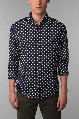 Urban Outfitters Your Neighbors Dress Polka Dot Shirt