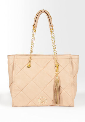 Bebe Daisy Oversized Quilted Tote