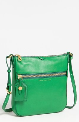Marc by Marc Jacobs 'Globetrotter - Kit Calley' Leather Crossbody Bag