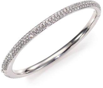 Adriana Orsini Pave Crystal Bangle Bracelet