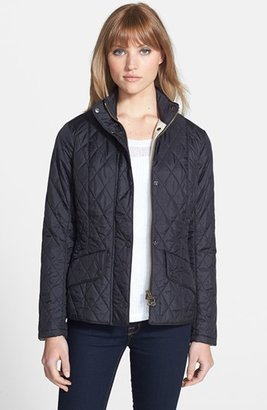 Women's Barbour 'Cavalry' Flyweight Quilt Jacket $199 thestylecure.com
