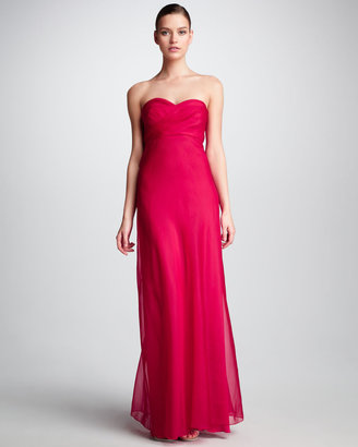 Phoebe Couture Chiffon Sweetheart Gown