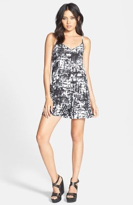Leith Graphic Print Romper