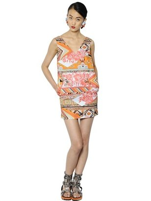 MSGM Cotton Viscose Ottoman Dress