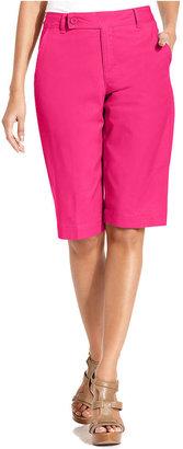 Style&Co. Shorts, Straight-Leg Bermuda