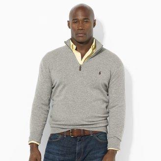 Polo Ralph Lauren Big & Tall Wool Mockneck Sweater