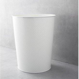 Crate & Barrel 3-Gallon Cream Waste Can