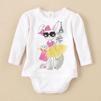 Children's Place 2-In-1 Bunny Bodysuit