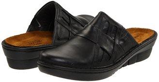 Naot Footwear Leap (Black Raven Leather) - Footwear