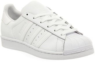 adidas Superstar 1 White Mono Foundation