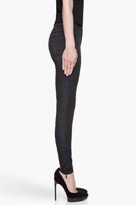 Kenzo Black and blue Dragon Scale embroidered Jacquard Leggings
