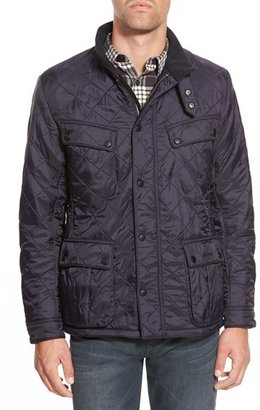Men's Barbour 'Ariel' Regular Fit Polarquilt Coat $299 thestylecure.com