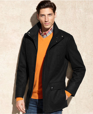 Kenneth Cole Reaction Coat, Wool-Blend Car Coat