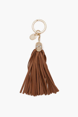 Alexander McQueen Skull Tassle Key Chain