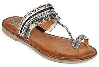 JCPenney YuuTM Cadalyn Embellished Thong Sandals