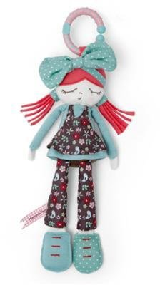 Mamas and Papas Plush Toy - Bow Rag Doll