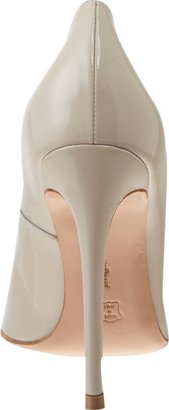 Gianvito Rossi Patent Pointed Toe Pump-Nude