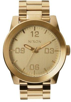 Men's Nixon 'The Corporal' Bracelet Watch, 48Mm $200 thestylecure.com