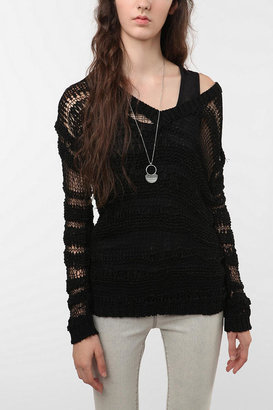Urban Outfitters Staring at Stars Shadow Stripe Tunic