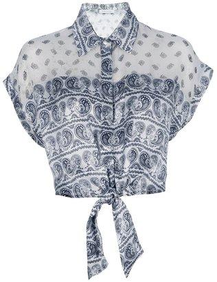 Balmain Pierre cropped shirt