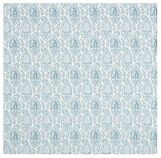 Pottery Barn Ashlyn Paisley Organic Duvet Cover & Sham - Blue