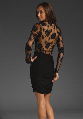 Mason by Michelle Mason Lace Back Dress
