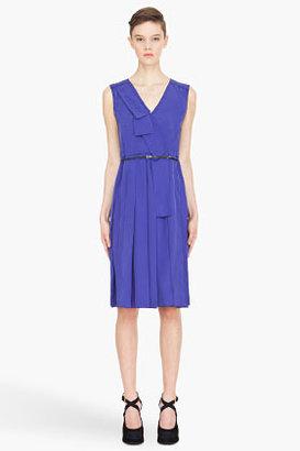 Marc Jacobs violet belted Dress