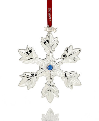 Waterford 2013 Annual Snowflake Christmas Ornament