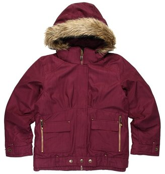 Obermeyer Bombdiggity Jacket (Little Kids/Big Kids) (Plum) - Apparel
