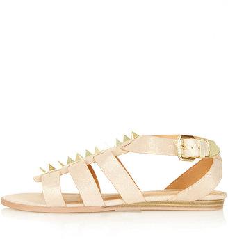 Topshop HOPE Prism Stud Strap Sandals