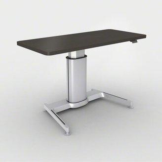 Steelcase Height Adjustable Standing Desk Color (Top): Chocolate Walnut