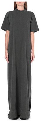 Rick Owens Short-sleeved jersey maxi dress