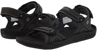 Columbia Kids - Techsun 3 Strap (Youth) (Black/Wild Dove) - Footwear