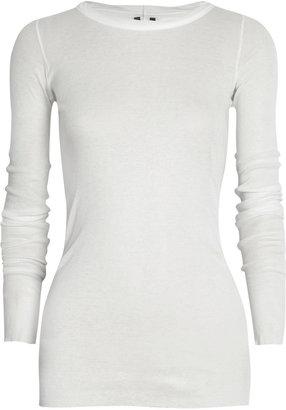Rick Owens Cotton-jersey top