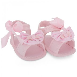 Mayoral Pink Bow Sandals